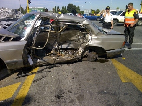 61 year old killed in Benoni Accident at intersection
