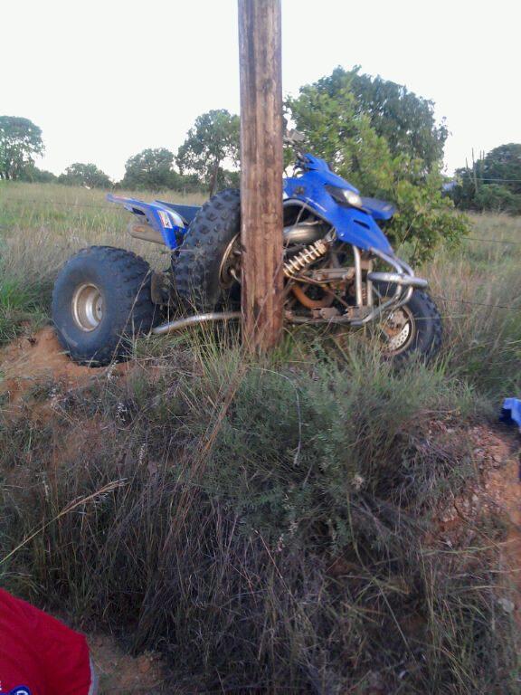 2 Injured in quad bike collision in Eerstegoud