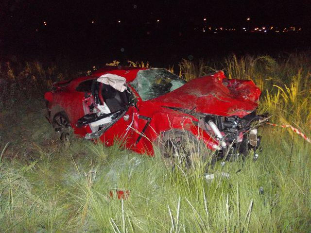 Horror crash kills 3 in Vereeniging