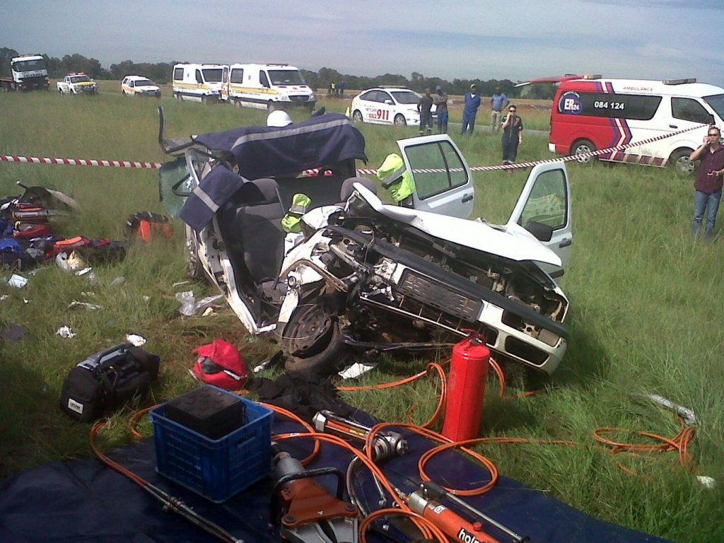 Horror R59 Crash Leaves Woman With Extensive Injuries