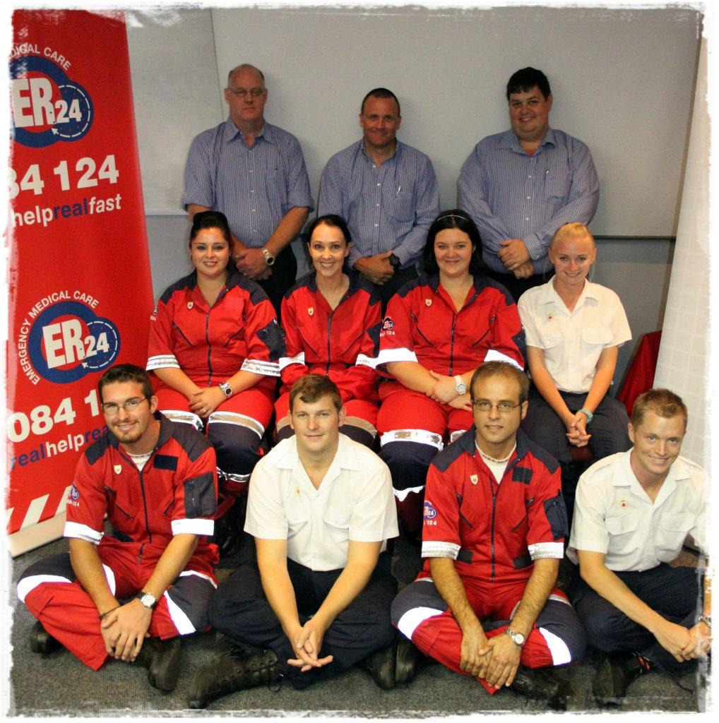 ER24 congratulates new emergency ambulance assistants!