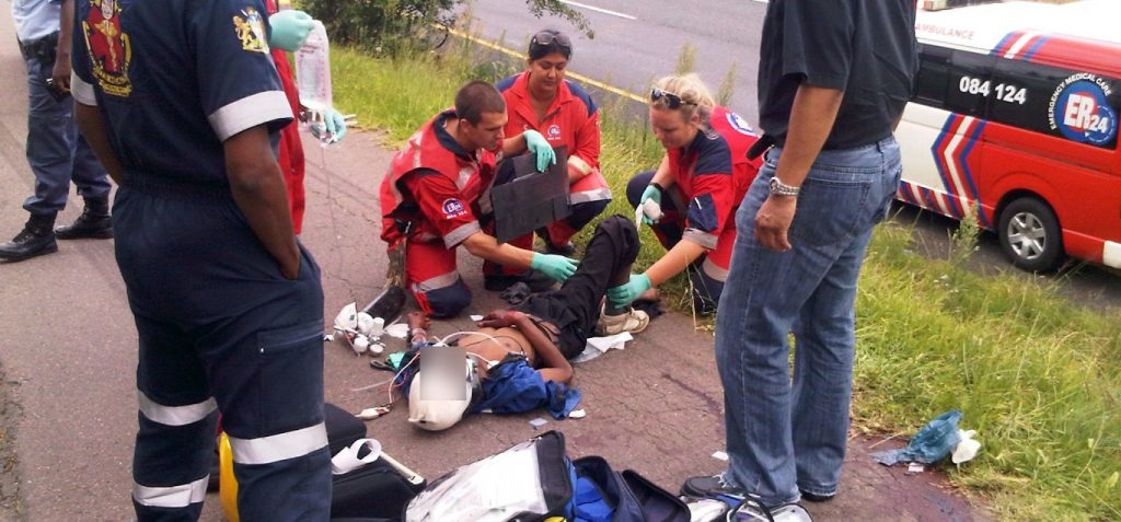 Man critically injured by passing vehicle in Westville