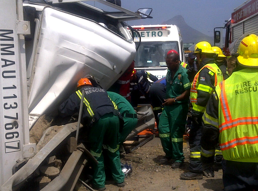 Truck Driver Entrapped On The M5