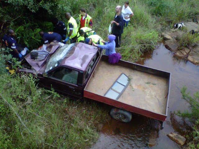 Pietermaritzburg crews attend to 2 serious accidents