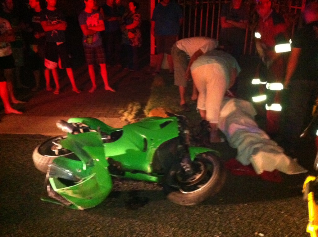 Two sustain serious injuries in motorbike accident in Bloemfontein