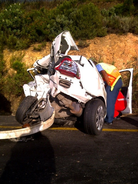 Driver Killed, Two Others Injured In Somerset West Crash