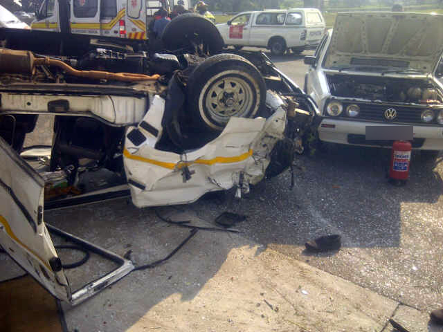 41 injured in 2 taxi crashes on Tuesday morning
