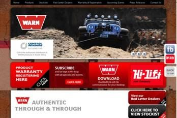 Warn South Africa launches new website