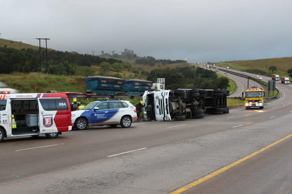 Truck Accident On The N3 Hammersdale