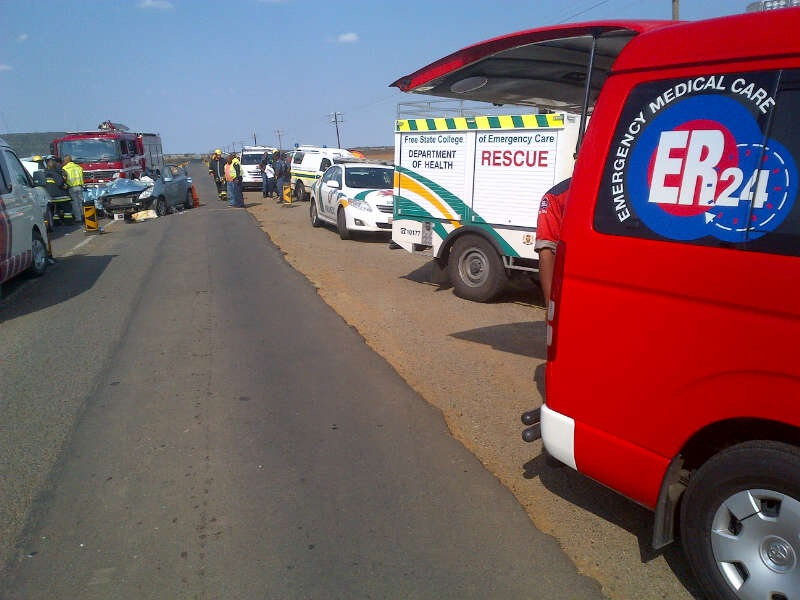 Driver In Critical Condition after crash on the N8