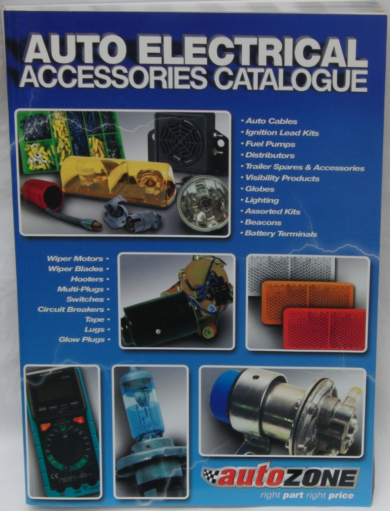 AutoZone launches online auto electrical vehicle parts and components catalogue