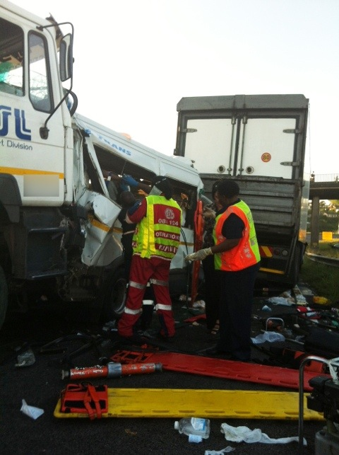 29 injured in Durban accident