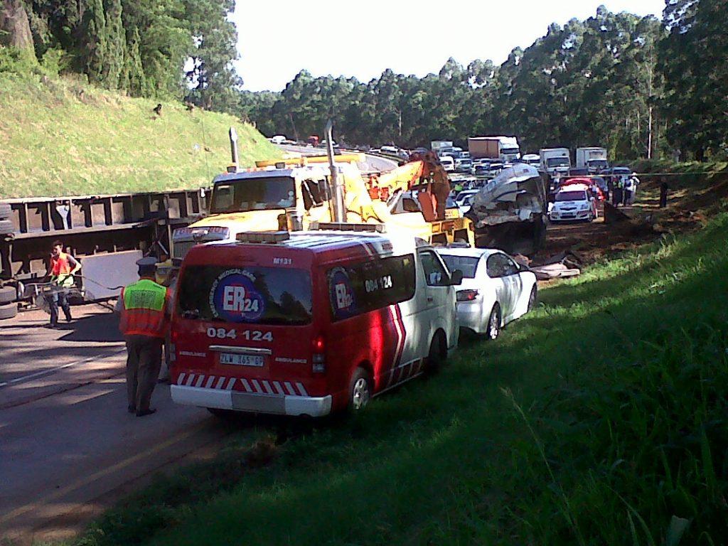 Fatal N3 truck in Pietermaritzburg