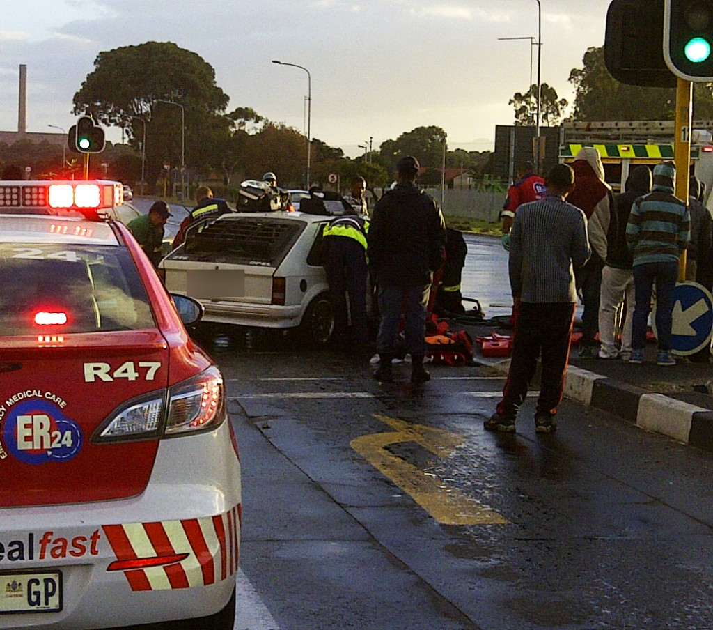 Five injured in side impact collision in Athlone
