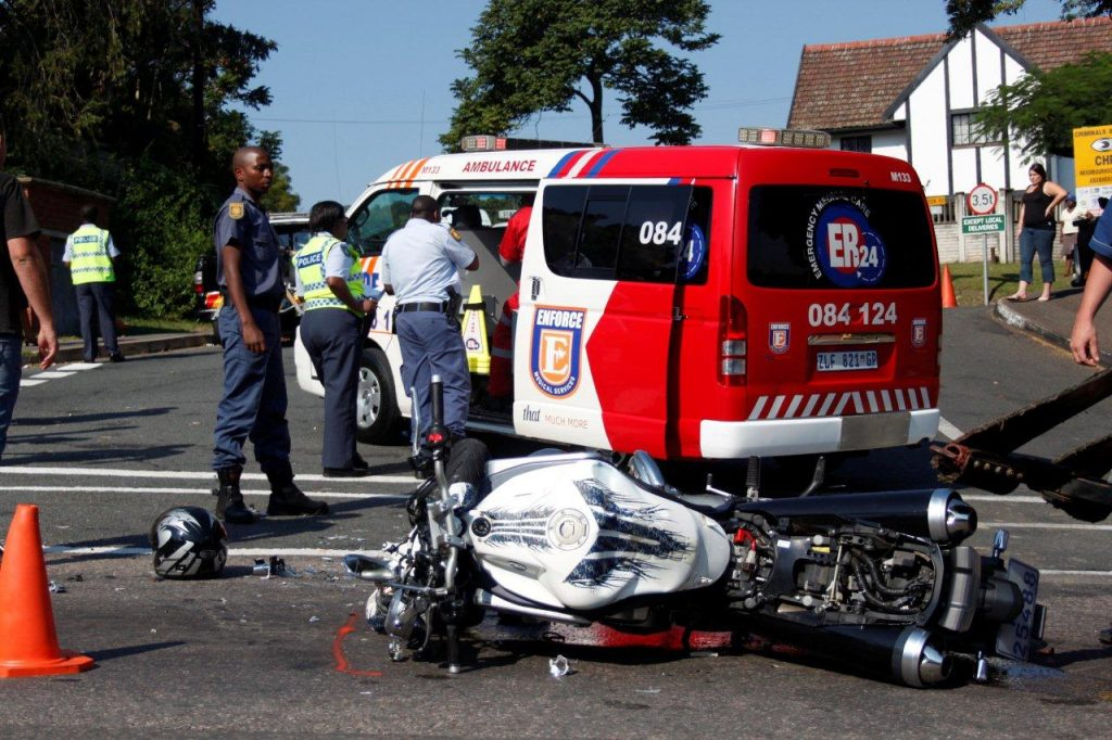 Motorcyclist In Serious Condition In Pinetown Accident