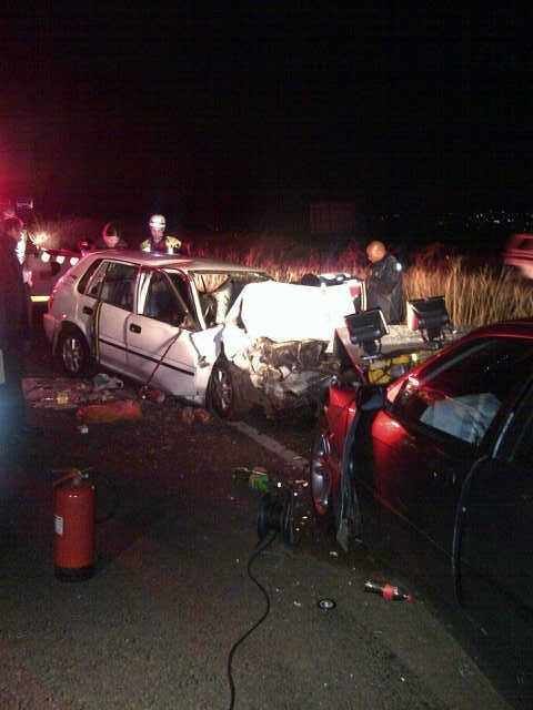 Two die in M19 head-on collision
