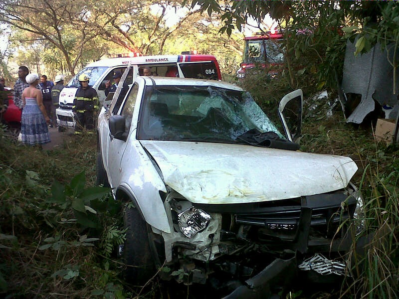 Couple Injured In Accident On New England Road