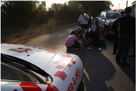 Good Samaritan witnesses hit-and-run in Meadowdale