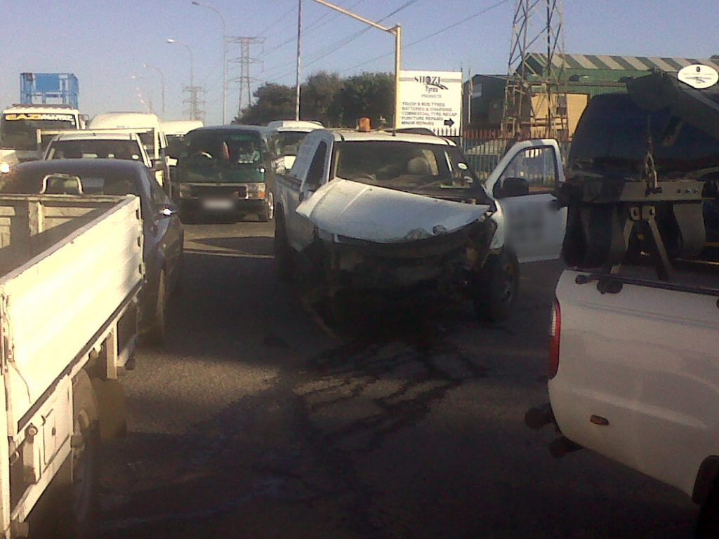 Three vehicle pile up in Robertville