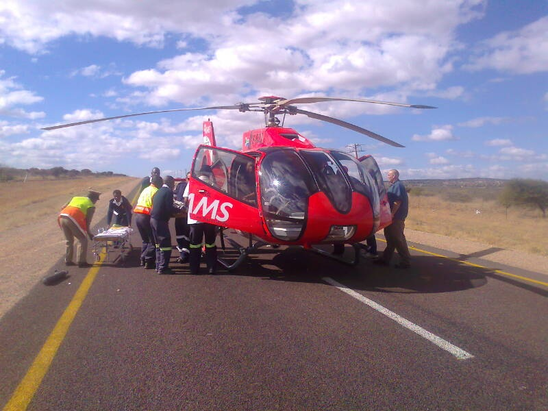 Head On Collision Leaves Eleven Injured On The R81