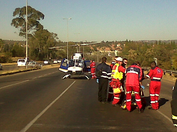 Twenty Two Injured In Morning Taxi Accident
