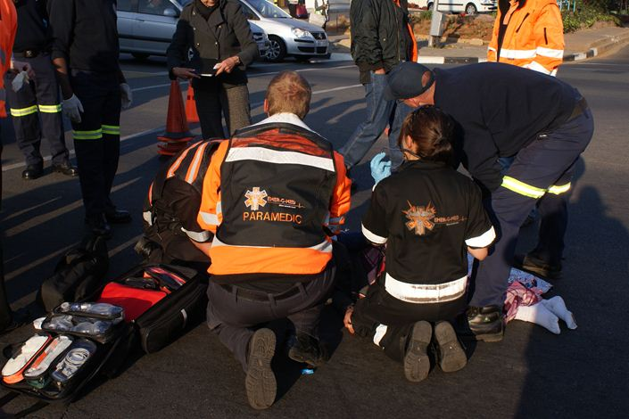 Learner knocked down in Edenvale
