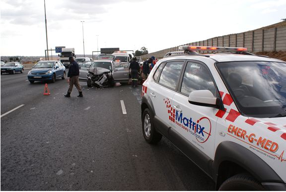 Truck driver flees collision scene on N3 South
