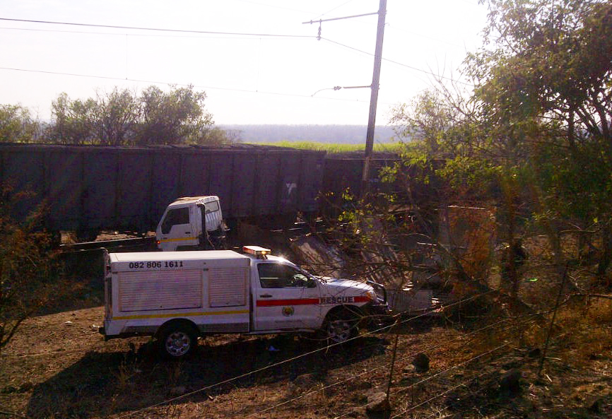 Multiple fatalities after a train collides with truck near Malelane Mpumalanga [Photos]