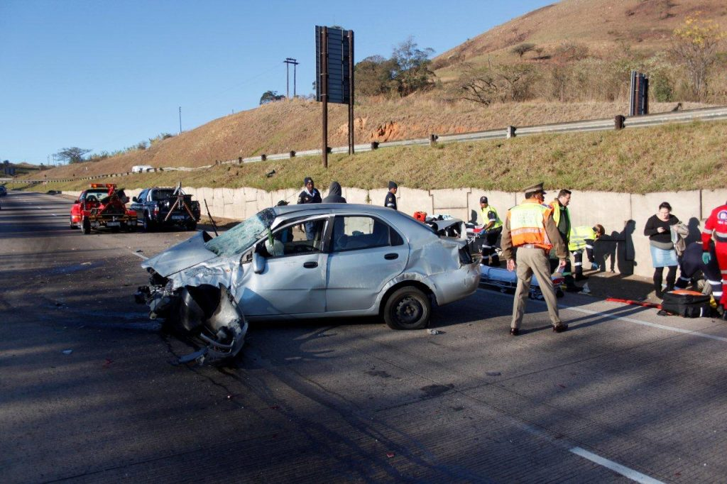 Father and Son Injured In N3 Crash
