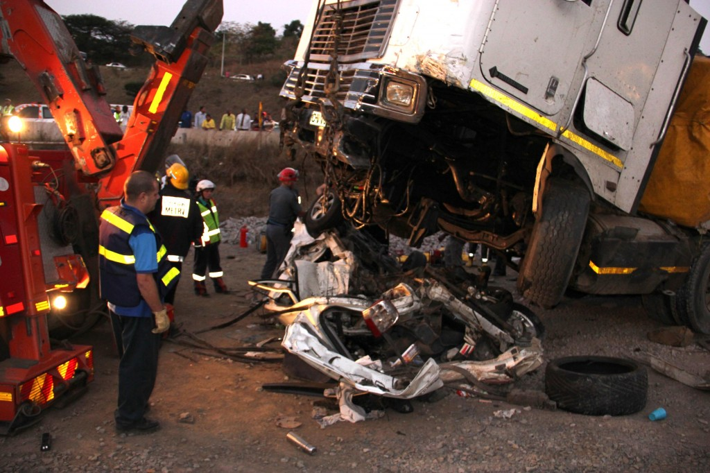 Photos from horrific crash on N2