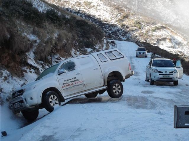 41 Rescued in Lesotho Snow Storm