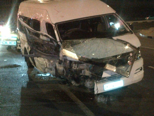 Fifteen People Injured In Rivonia Taxi Accident