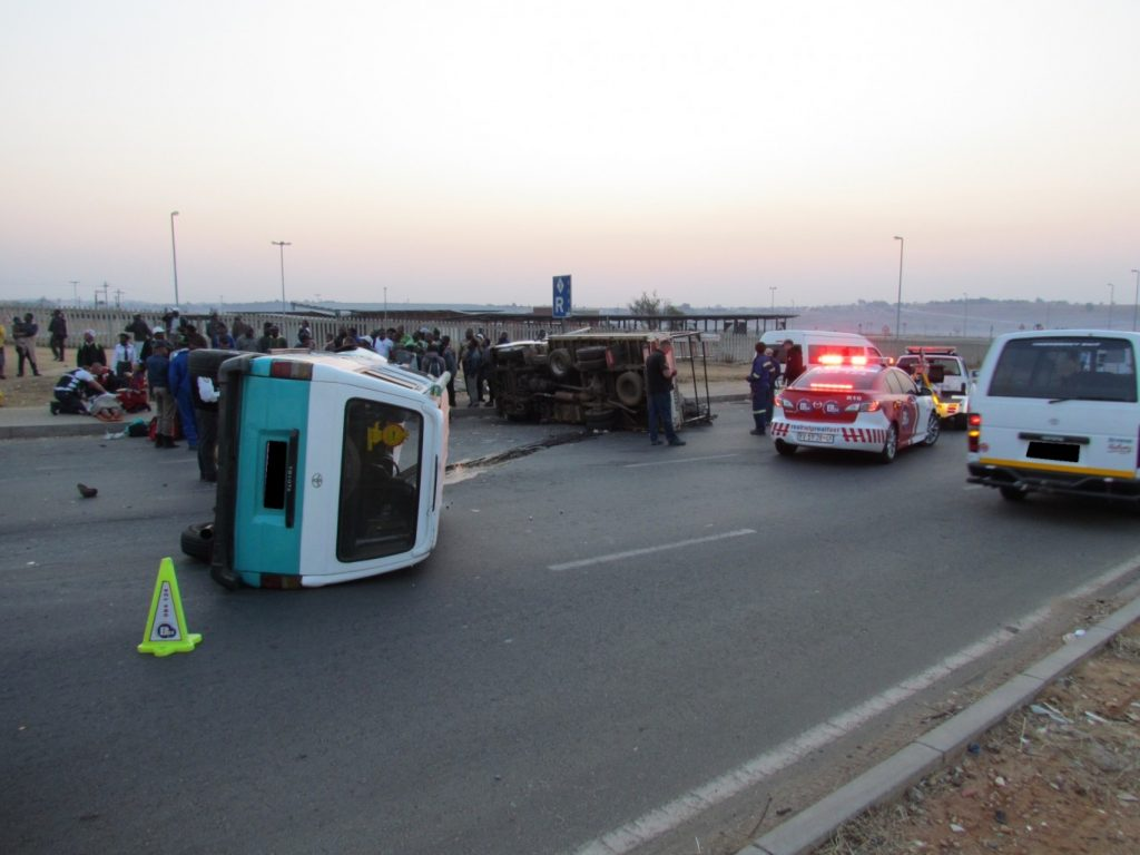 Eight Injured In Malibongwe Accident