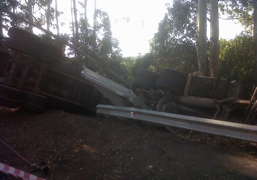 Interlink Driver Killed in truck crash in Hillcrest