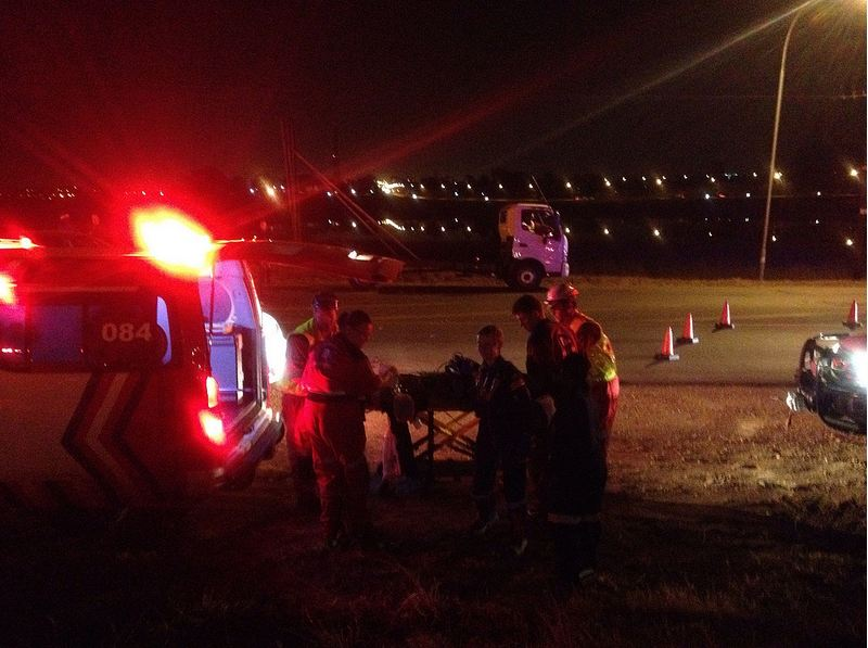 Pedestrian severely injured in Bredell