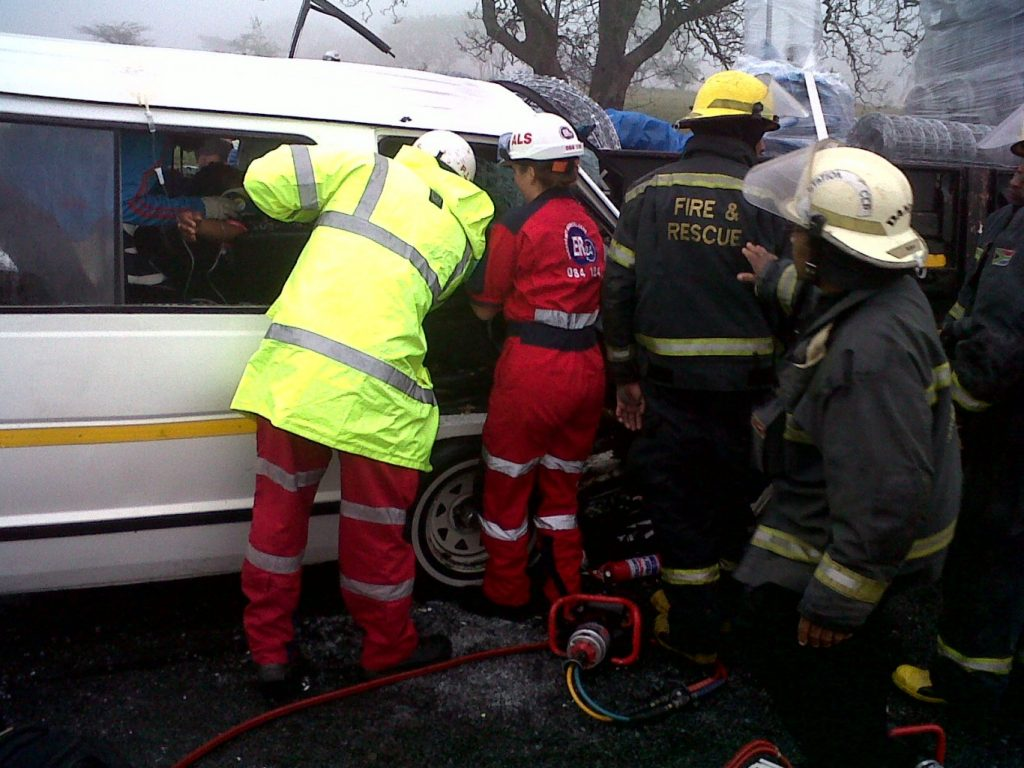 Nine People Injured In Five Vehicle Pile Up
