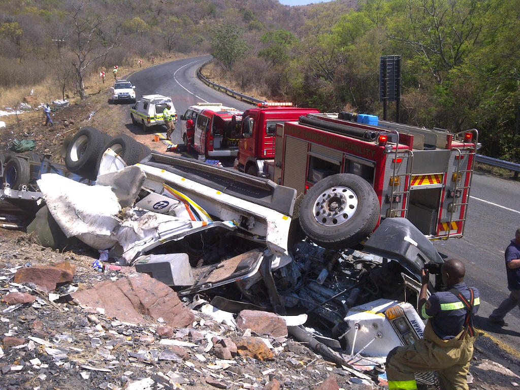 Truck Driver And Passenger Injured In N11 Accident