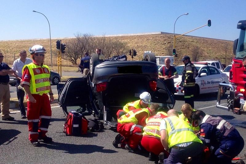 Collision in Benoni Leaves Three Injured