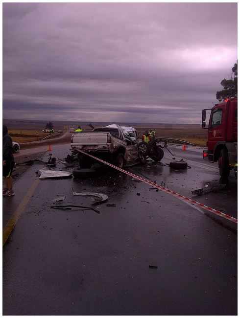 Two dead and another in critical condition in N4 Middelburg Accident