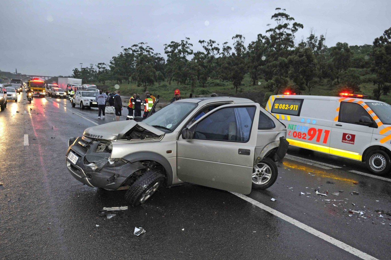 South Car Accident On August