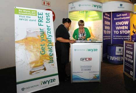 Interesting findings on alcohol breath measurement at the FNB Whisky Festival 03 to 05 October 2012