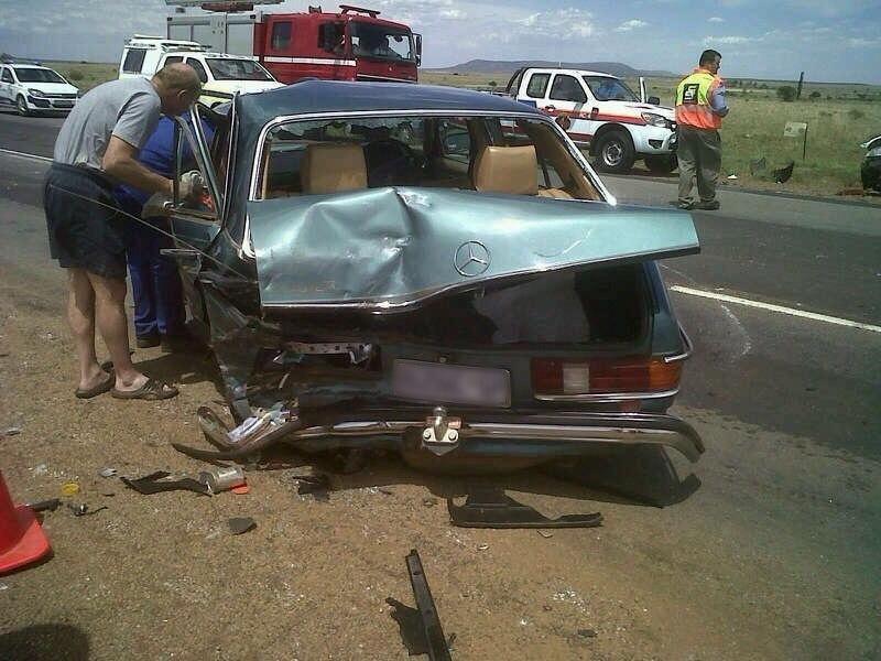 Three vehicle pileup near Potchefstroom