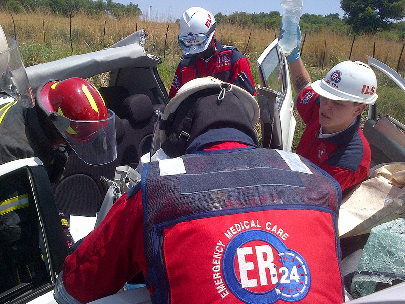 Man airlifted from N12 accident