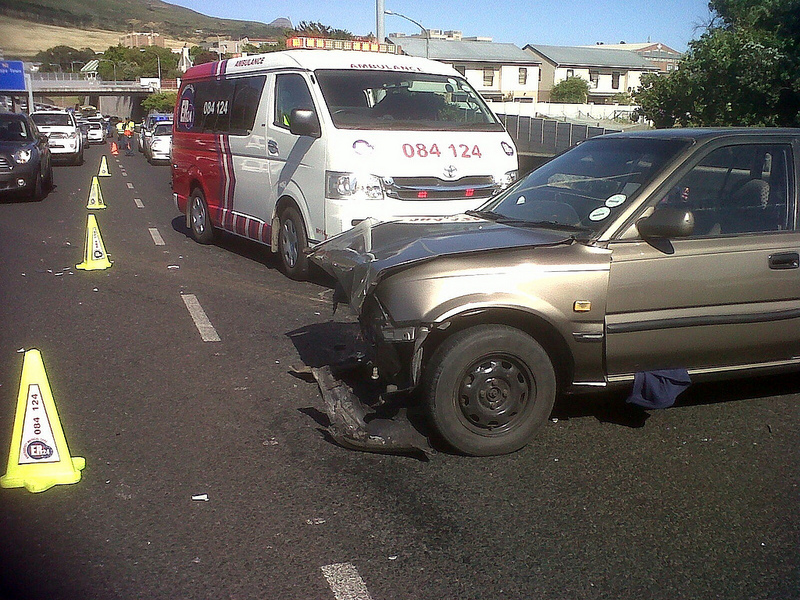Elderly lady injured in N2 collision