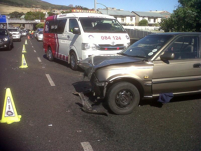 Elderly lady injured in N2 collision