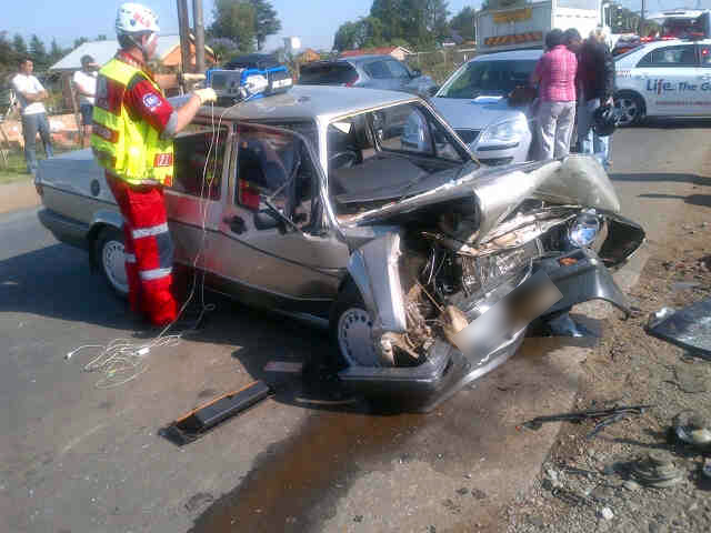 Three vehicles collide in Benoni