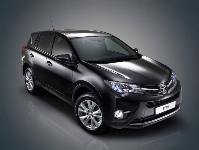 A raving beauty new-generation Rav4 makes its international debut