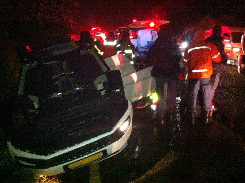 2 Injured, 1 Seriously in M4 Sibiya Accident