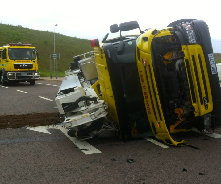 Fireman Injured In N2 Accident