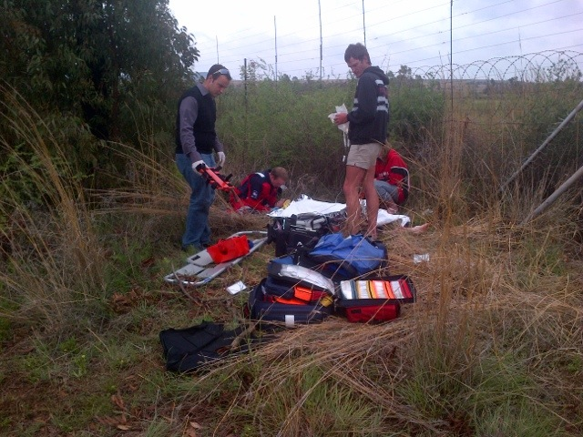 Quad Bike Rider Airlifted After Accident